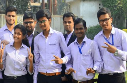 techno bca students