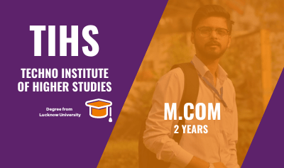 mcom from lucknow university