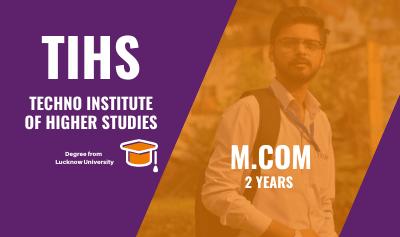 mcom from lucknow university